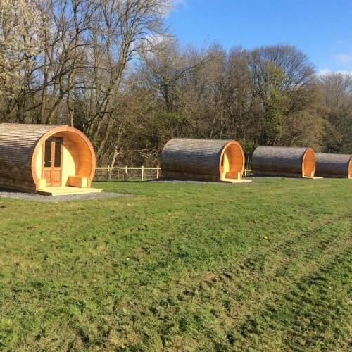 Luxury Glamping Pods in Ellesmere, Shropshire