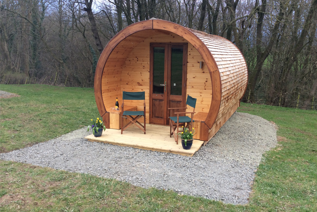 Glamping Pods in Shropshire