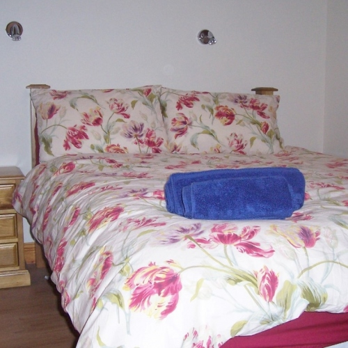 Bedroom at Shropshire Holiday Let
