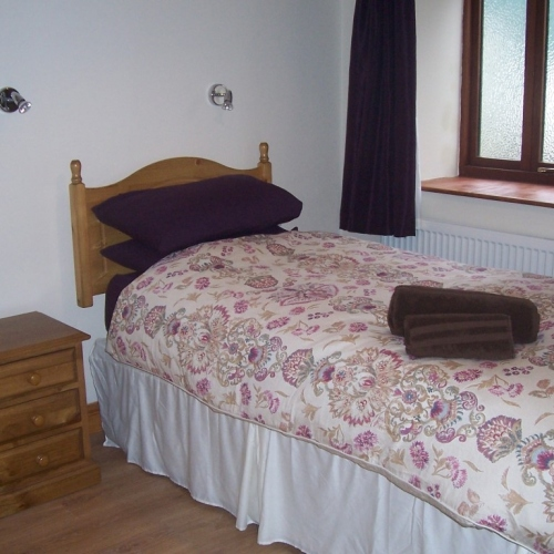 Bedroom at Shropshire Holiday Accommodation