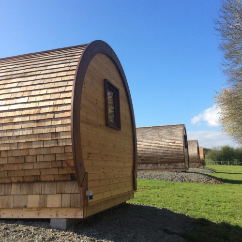 Luxury Glamping pods in Ellesmere Shropshire